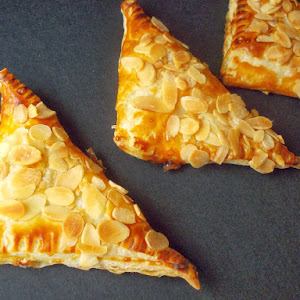 Fig Jam Turnovers with Almond Topping