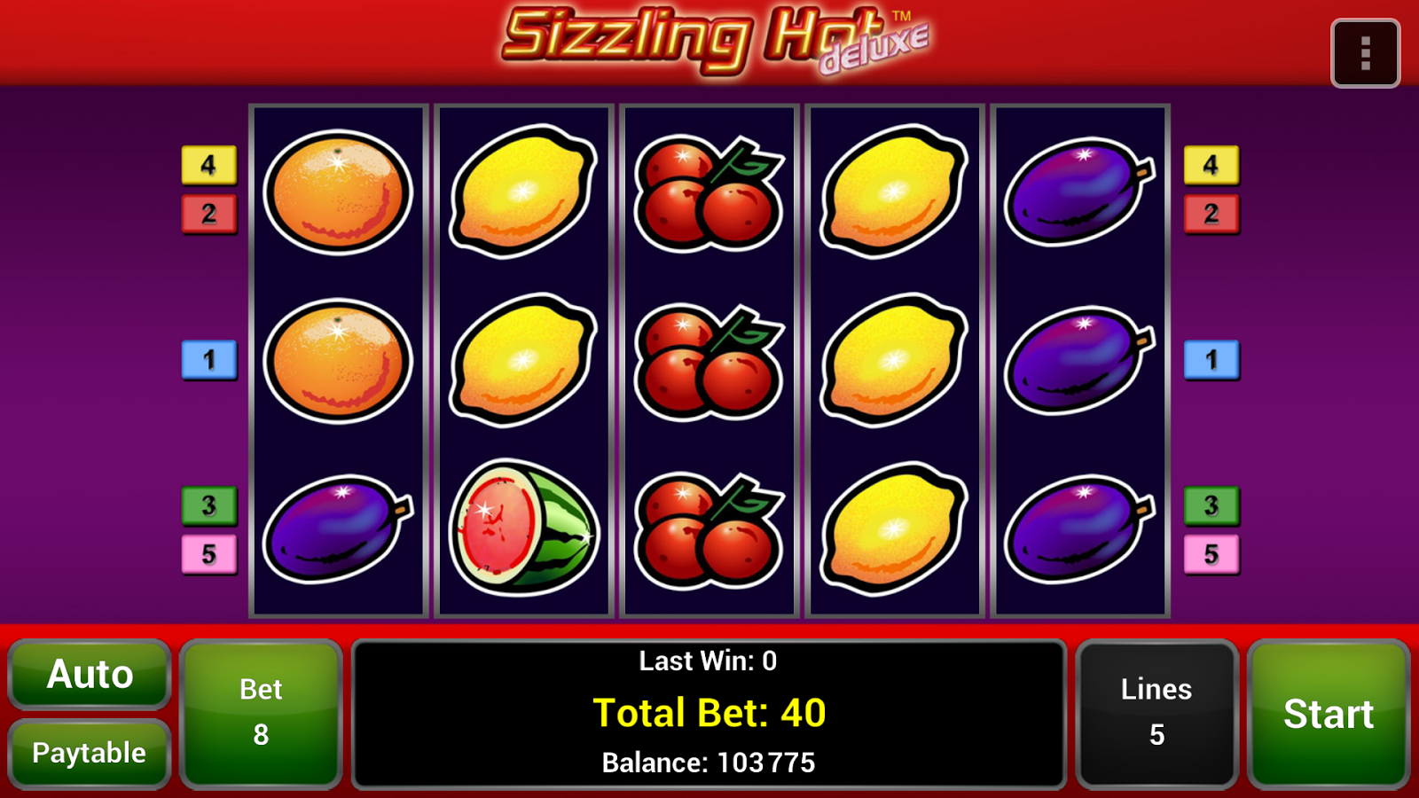 sizzling hot slots android