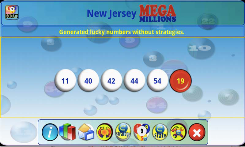 mLottoLuck Lotto Lottery PRO- screenshot
