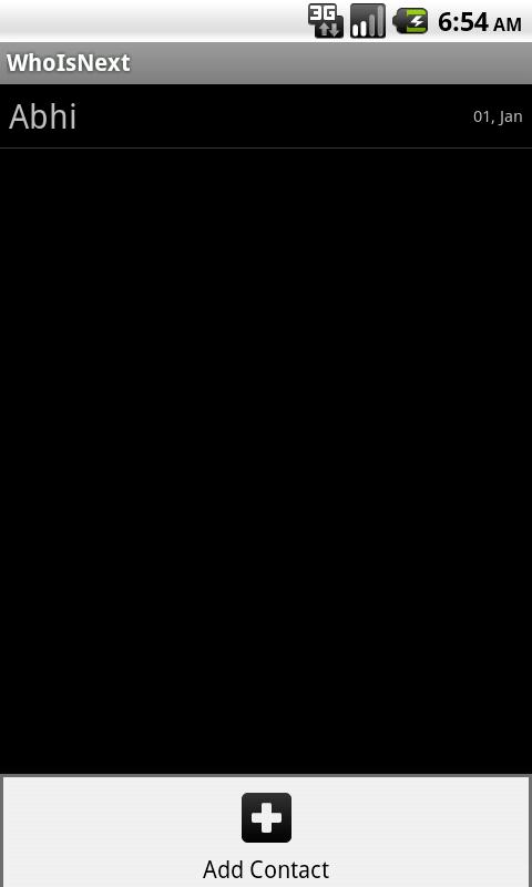 WhoIsNext- screenshot