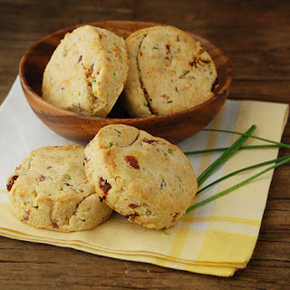 Bacon, Sundried Tomato and Chive Biscuits