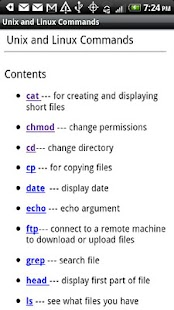 Unix & Linux Commands - screenshot thumbnail