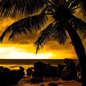 waiting the sunset at Phu Quoc island, Vietnam by Nguyen Huu Hung - Landscapes Sunsets & Sunrises