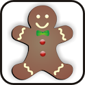 Gingerbread doo-dad icon