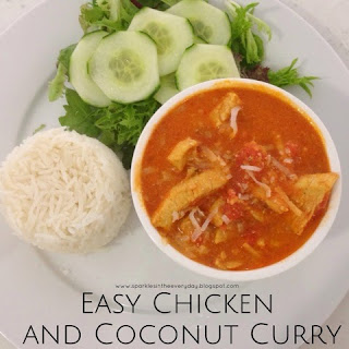 Everyday Meals - Easy Chicken and Coconut Curry!
