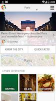 Screenshot of Paris City Guide