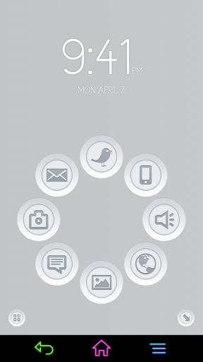 3D Buttons for Smart Launcher