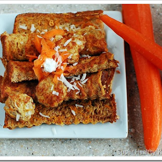 Carrot Cake French Toast Sticks