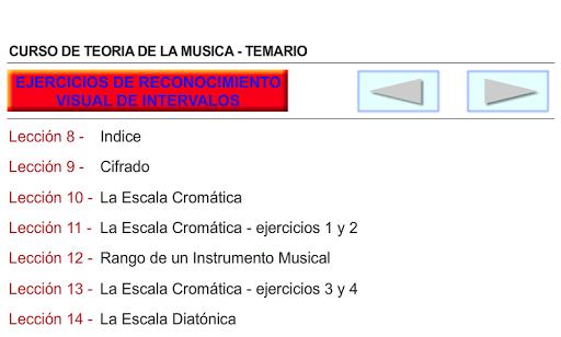 CURSO DE TEORIA DE LA MUSICA 1.0.19 screenshots 8