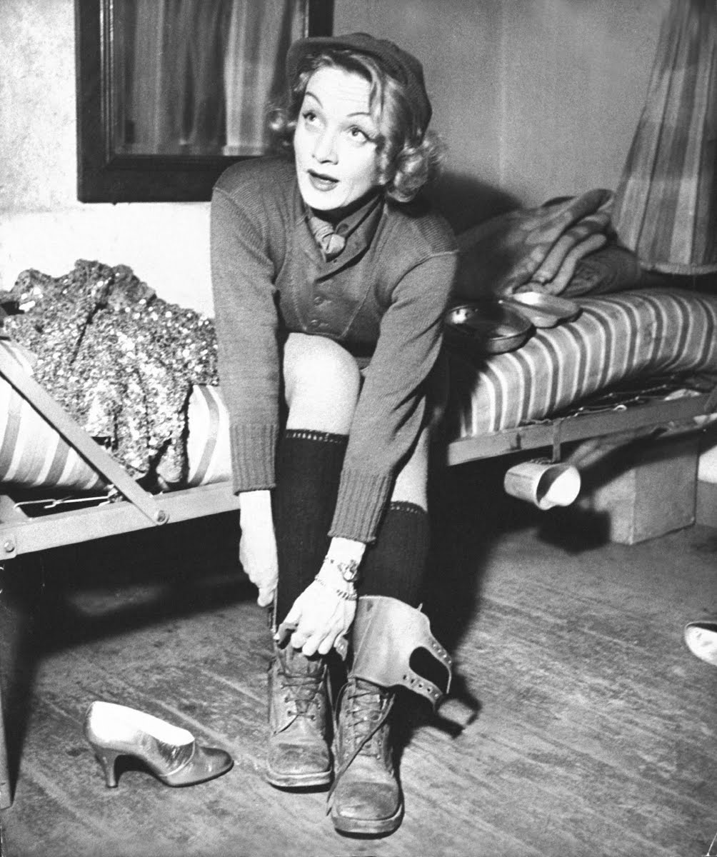 Marlene Dietrich In Germany