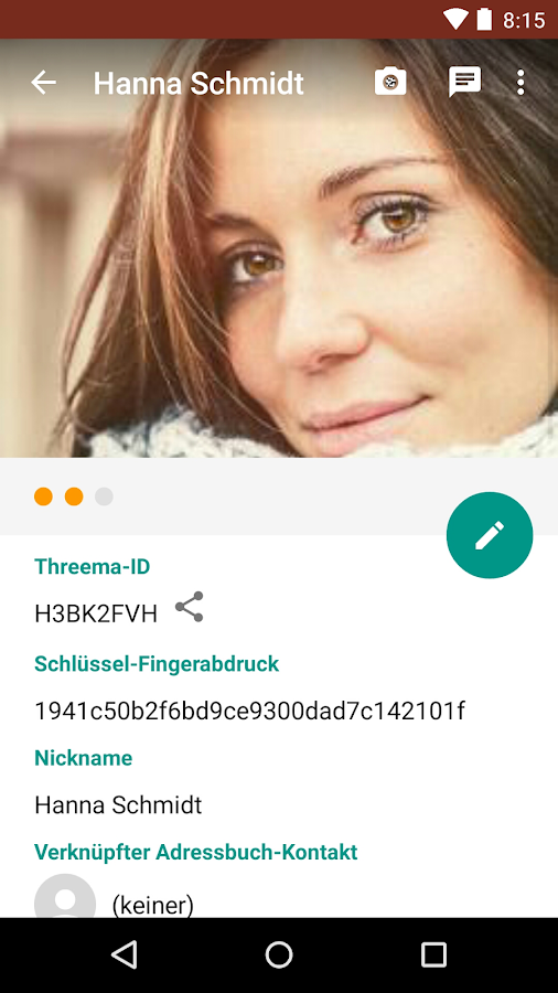 Threema - screenshot