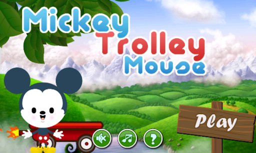 Mickey trolley Mouse