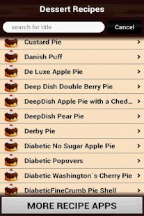 Dessert Recipes Cookbook- screenshot thumbnail