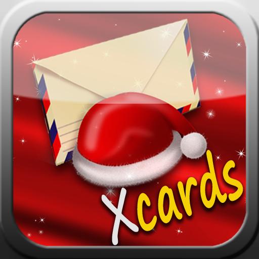 Xmas Cards LOGO-APP點子