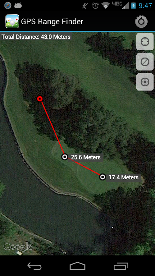 Golf GPS Range Finder Free - screenshot
