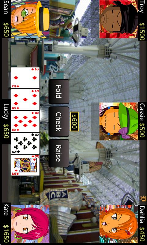 Five Card Draw - screenshot