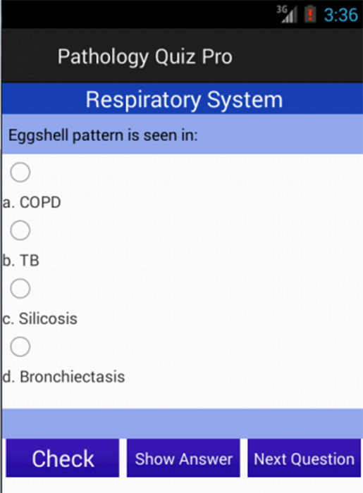 Medical Pathology Quiz Pro - screenshot