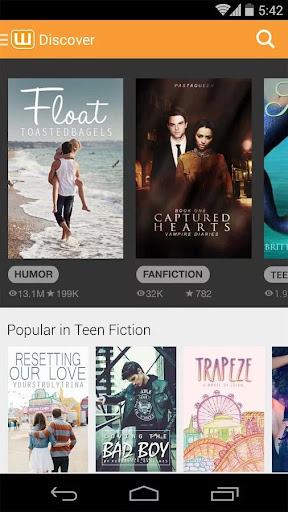 Wattpad Beta  screenshots 1