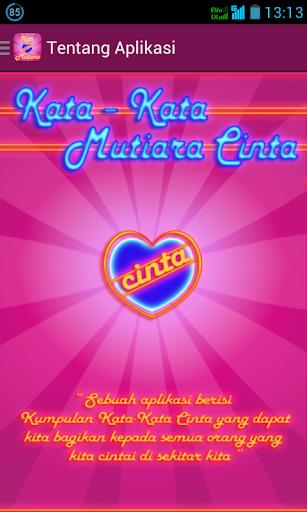 【免費書籍App】Kata Kata Mutiara Cinta-APP點子