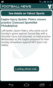 Philadelphia Football News - screenshot thumbnail