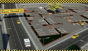 Screenshot of Taxi Driver 3D