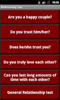 Screenshot of Relationship Tips