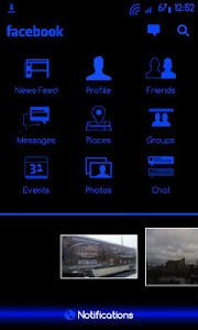 BlueGinger Theme CM7 screenshot 6