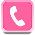 Pink GO Contacts Theme Free icon