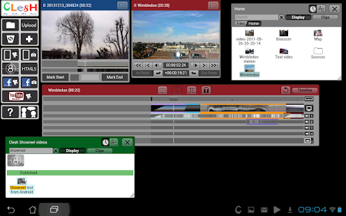 Clesh Video Editor- screenshot thumbnail