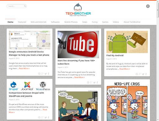 【免費新聞App】Tech Brother-APP點子