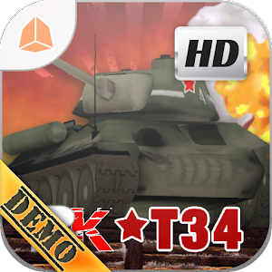 BATTLE KILLER TANK34 3DHD DEMO for PC and MAC