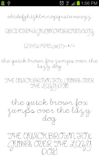 Fonts for Galaxy FlipFont Free 3.23.0 screenshots 3