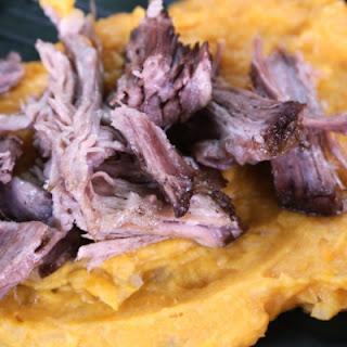 Kalua Pork with Mashed Sweet Potatoes