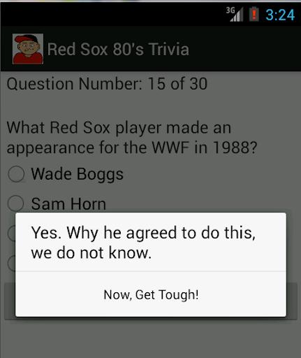1980's Red Sox Trivia App