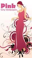 Screenshot of Pink Girly Wallpapers