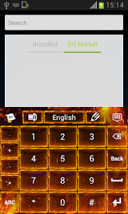 Flame Keyboard - screenshot thumbnail