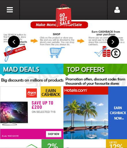 Cashback Coupons More