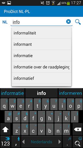 Polish Dutch dictionary