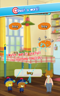 Shoot English by water gun!- screenshot thumbnail