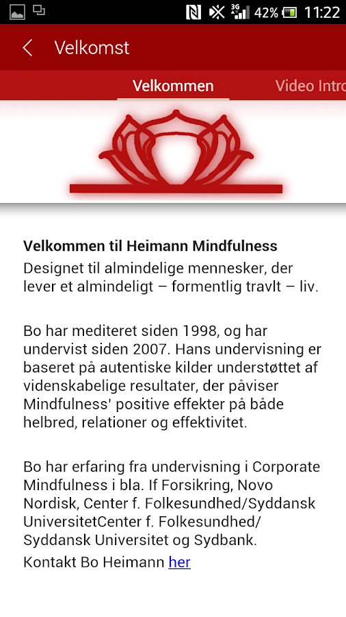 Heimann Mindful- screenshot