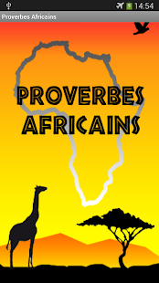 Proverbes Africains GRATUIT- screenshot thumbnail