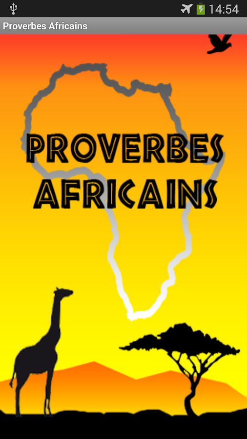 Proverbes Africains GRATUIT- screenshot