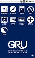 Screenshot of GRU Mobile