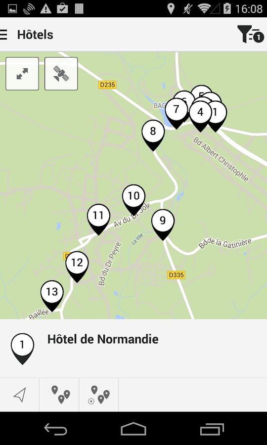 bagnoles de l 39 orne tour android apps on google play