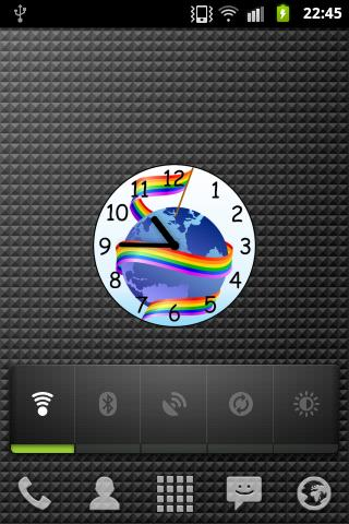 Gay and lesbian clock