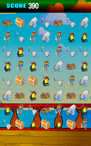 【免費益智App】Pirate Jewels Puzzle Blitz Kid-APP點子