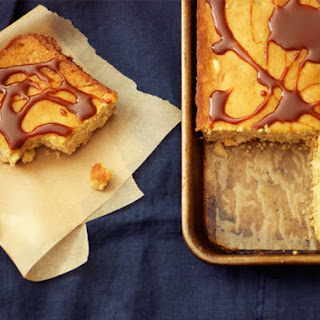 White Chocolate-Macadamia Nut Sheet Cake