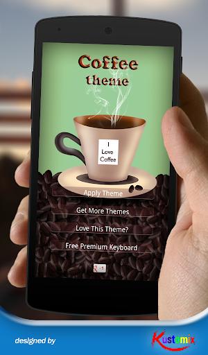 Coffee Theme Keyboard