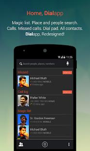 Dialapp : Kitkat Dialer - screenshot thumbnail