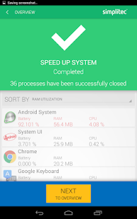 simpli Clean BOOSTER & CLEANER for ANDROID- screenshot thumbnail